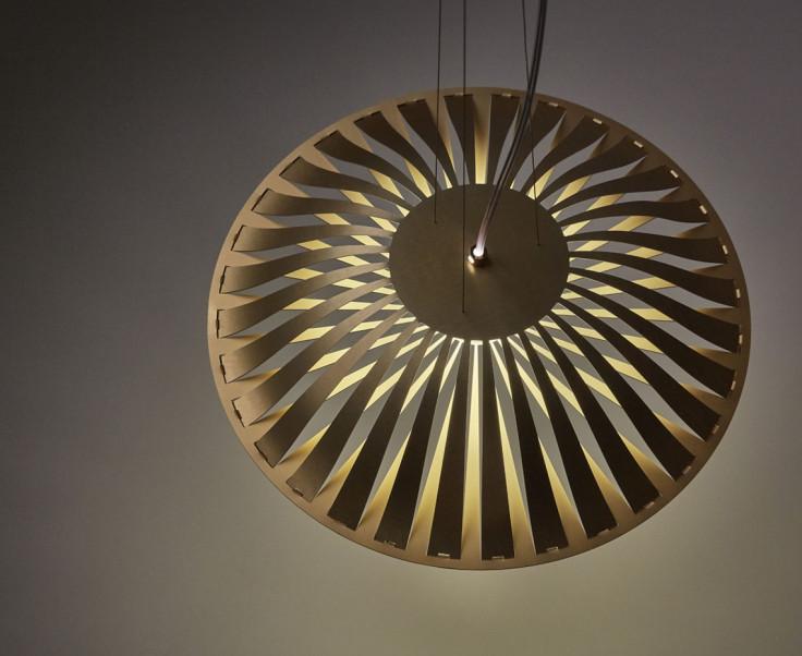 Glint Light Flat suspension light